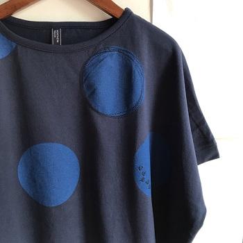 ノーザントラック BIGドット柄ドルマンTシャツ