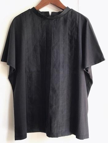 リラシク タック切替Tシャツ